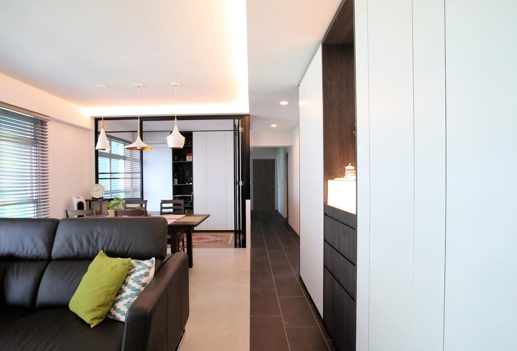 Contemporary, HDB, Clementi, Interior Designer, Intrigue-d Design Consultancy
