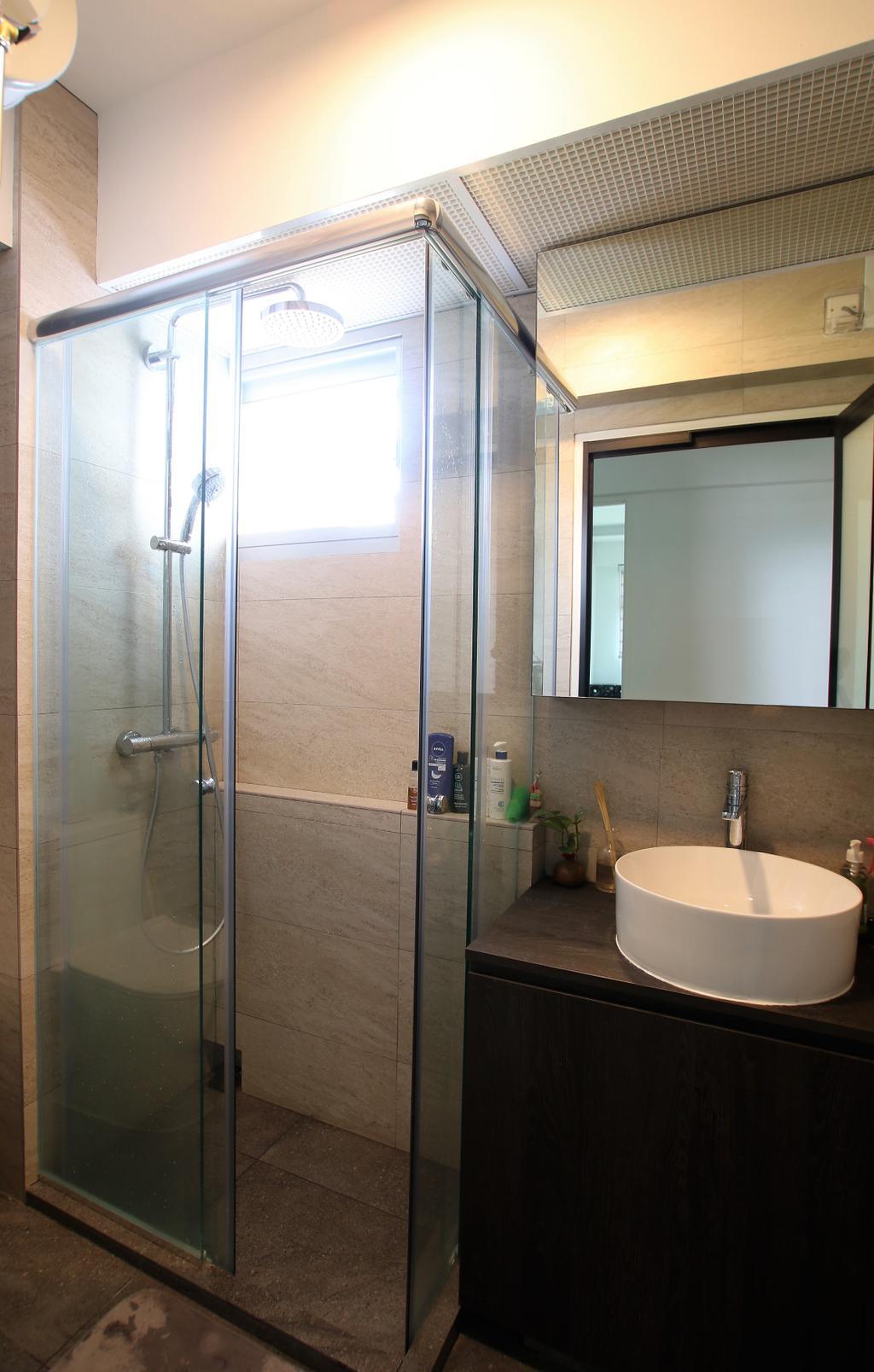 Contemporary, HDB, Bathroom, Clementi, Interior Designer, Intrigue-d Design Consultancy