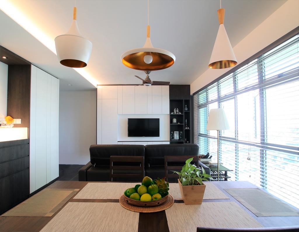 Contemporary, HDB, Living Room, Clementi, Interior Designer, Intrigue-d Design Consultancy