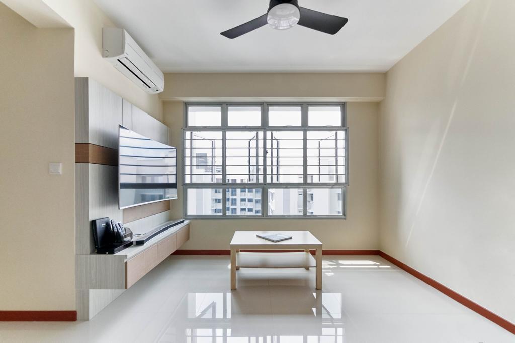 Contemporary, HDB, Living Room, Corporation Drive, Interior Designer, VNA Design