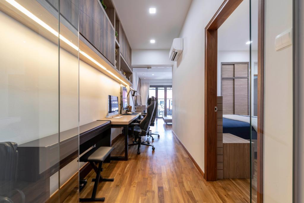 Contemporary, Landed, Study, Joo Chiat Avenue, Interior Designer, Dyel Design