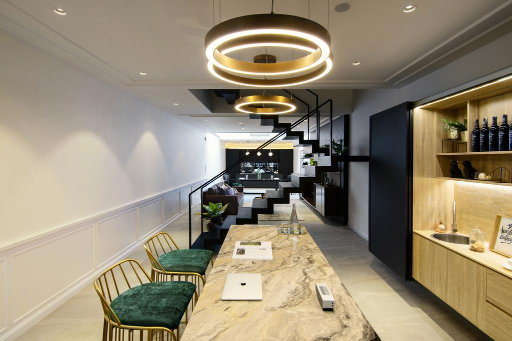 Modern, Landed, The Irrawaddy House, Penang, Interior Designer, Nevermore Group