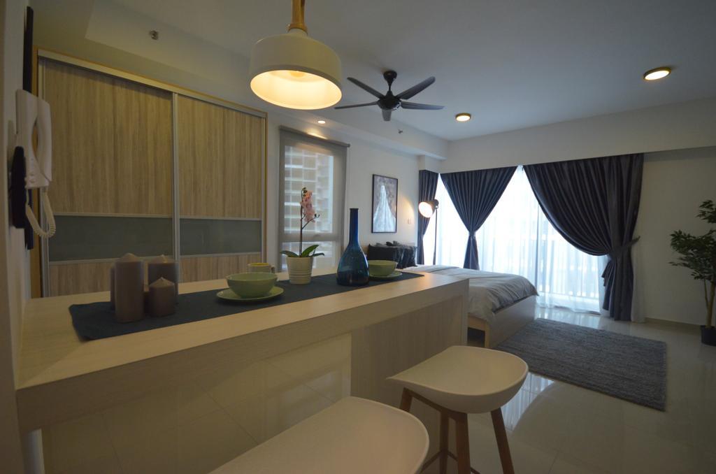 Scandinavian, Apartment, ISOHO, Shah Alam, Interior Designer, Anwill Design Sdn Bhd