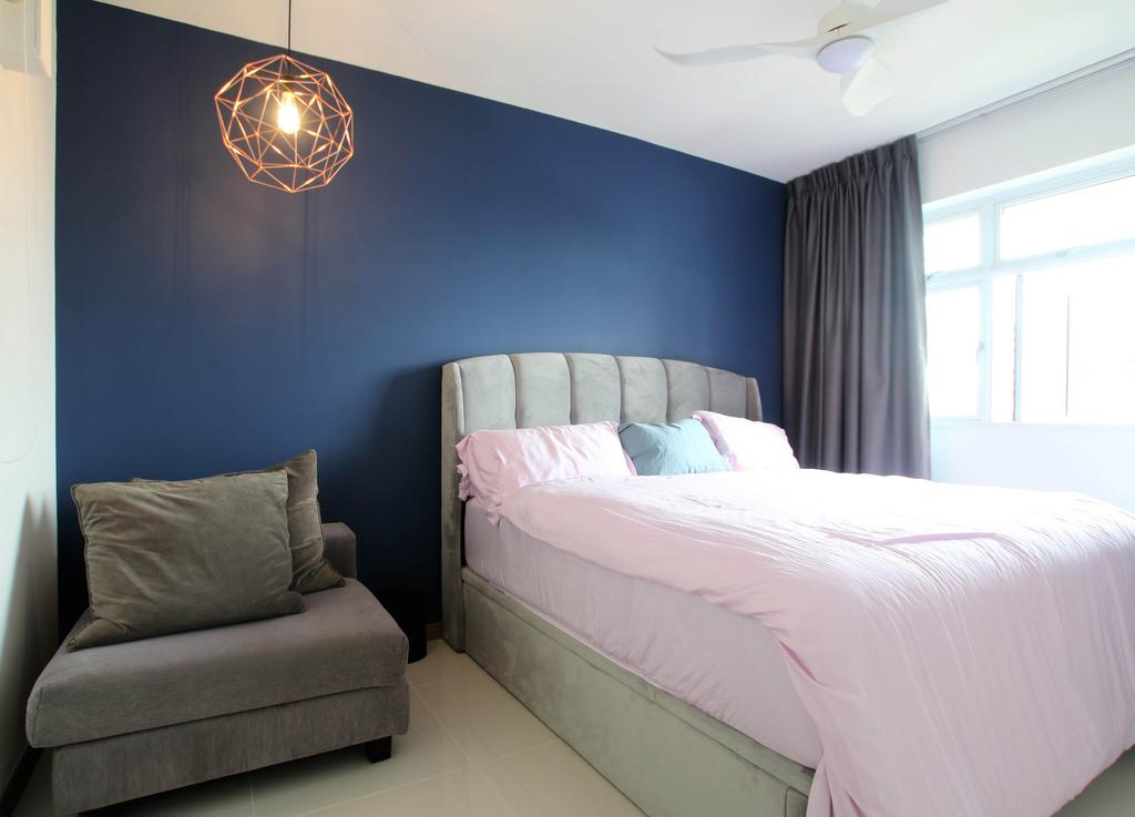 Contemporary, HDB, Bedroom, Bukit Batok, Interior Designer, Intrigue-d Design Consultancy