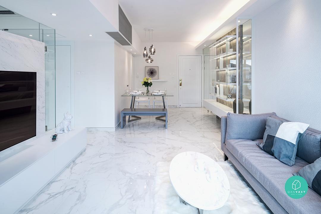 Design tricks to make small spaces look bigger