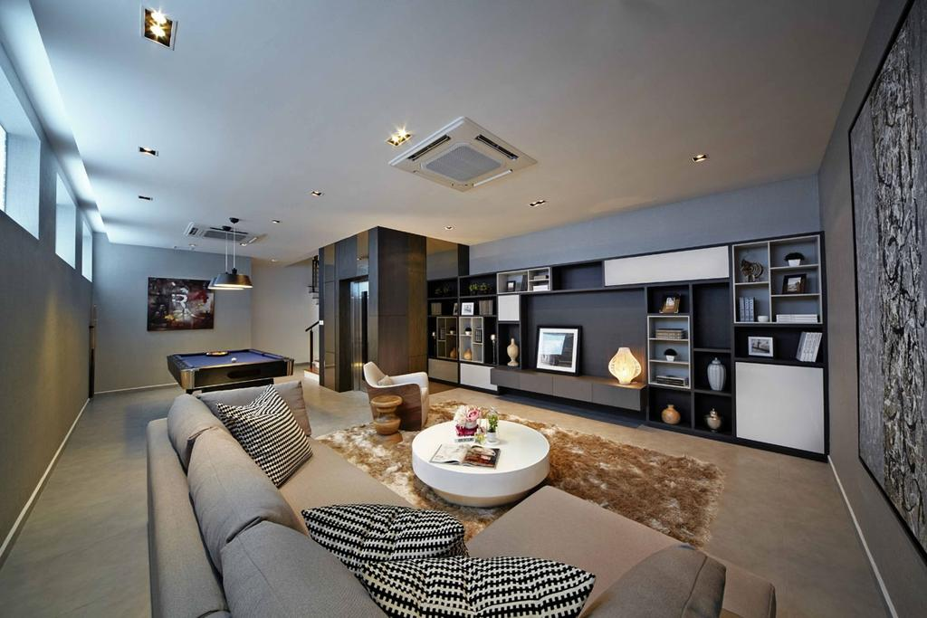 Contemporary, Landed, Wak Hassan Place, Interior Designer, Elements ID