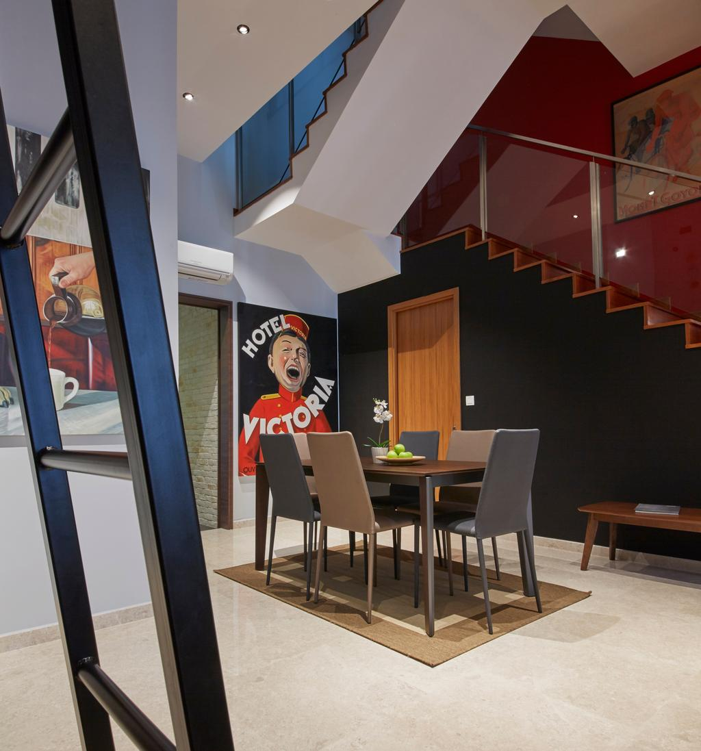 Contemporary, Landed, Dining Room, Koon Seng Road, Interior Designer, Elements ID