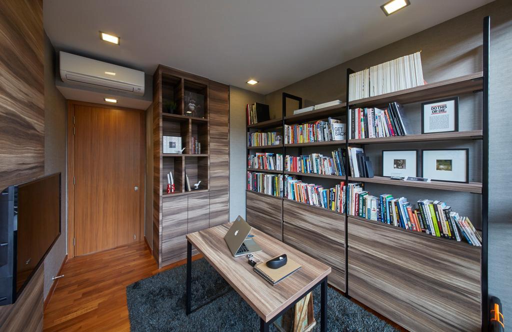 Contemporary, Landed, Study, Koon Seng Road, Interior Designer, Elements ID