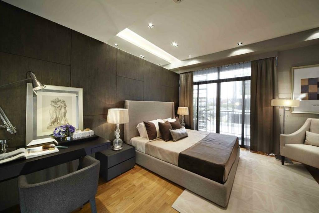 Contemporary, Landed, Bedroom, Luxus Hill, Interior Designer, Elements ID