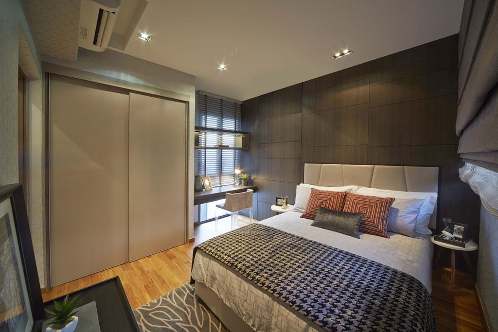 Contemporary, Condo, Bedroom, Palm Isles, Interior Designer, Elements ID