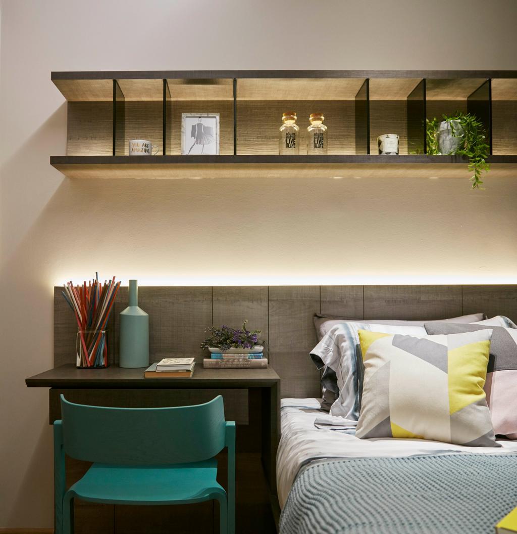 Contemporary, Condo, Parc Life, Interior Designer, Elements ID