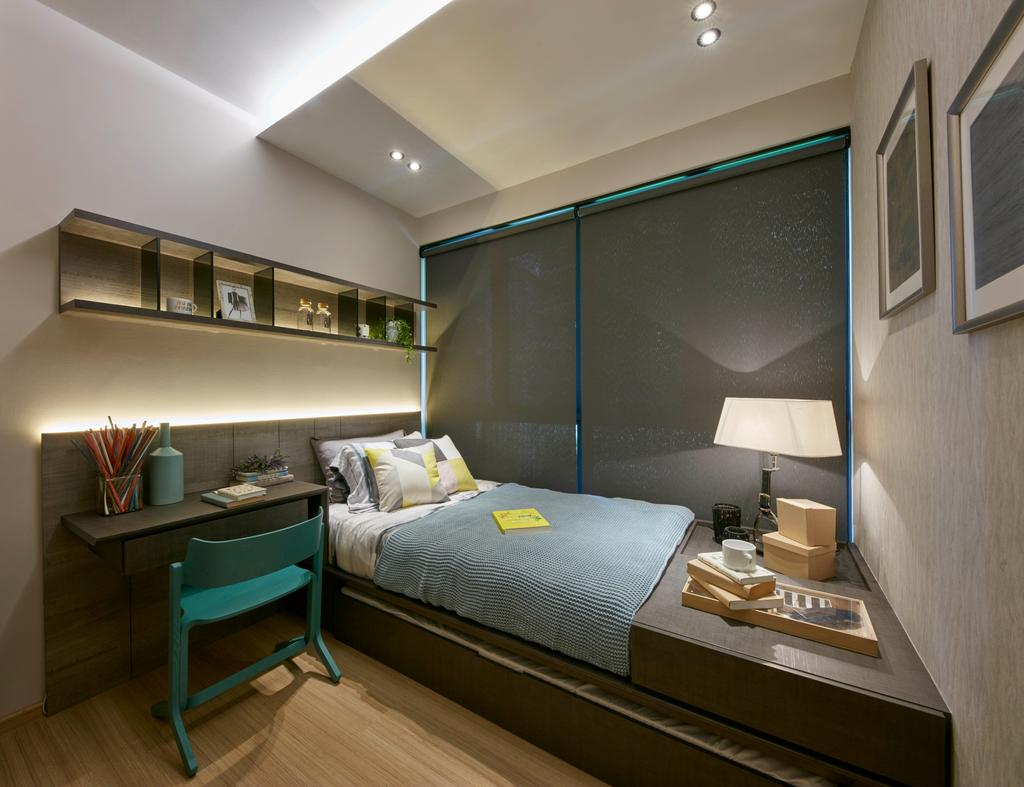 Contemporary, Condo, Bedroom, Parc Life, Interior Designer, Elements ID