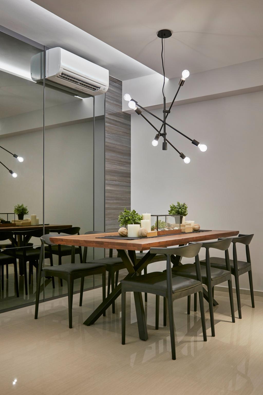 Contemporary, Condo, Dining Room, Parc Life, Interior Designer, Elements ID