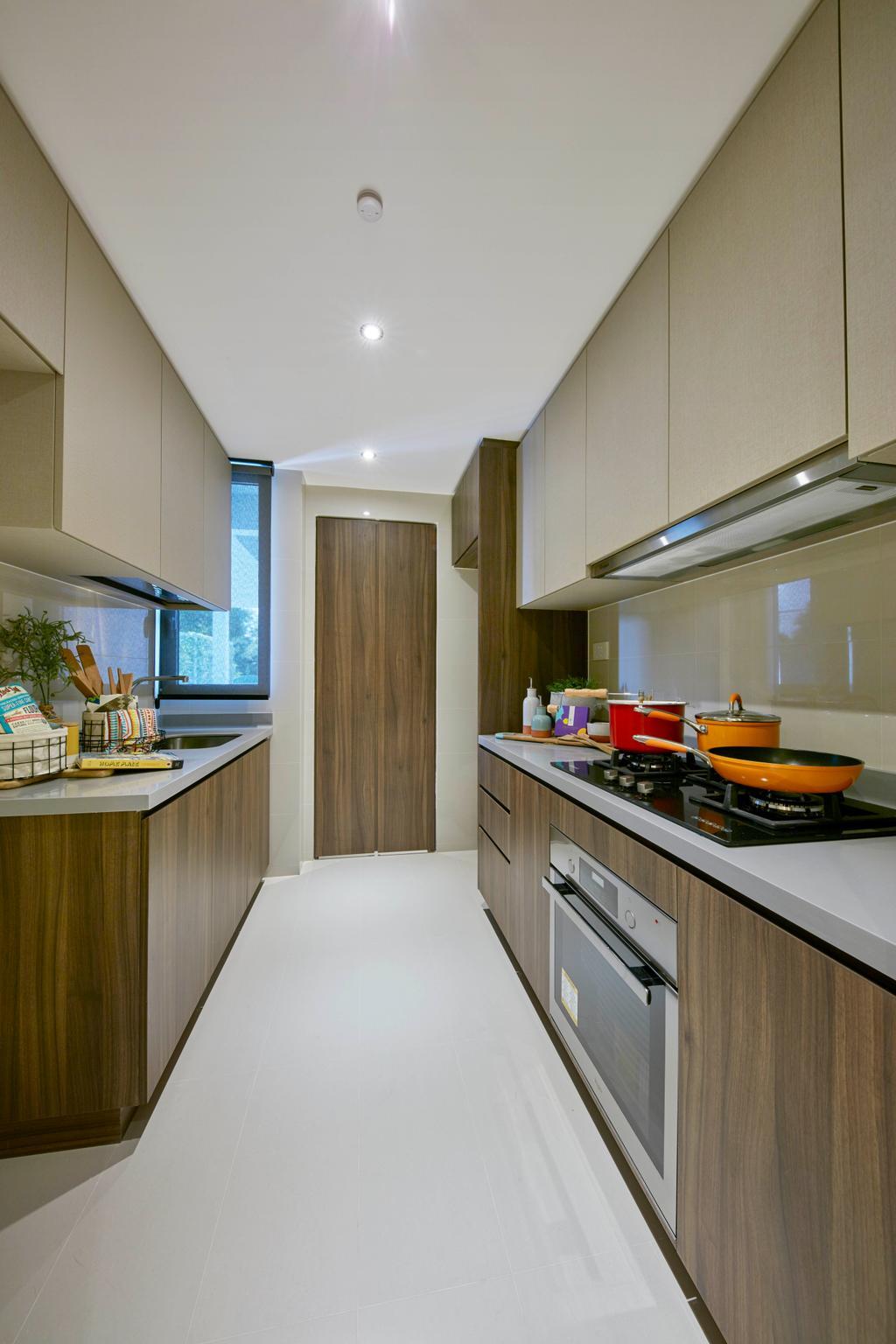 Contemporary, Condo, Kitchen, Parc Life, Interior Designer, Elements ID