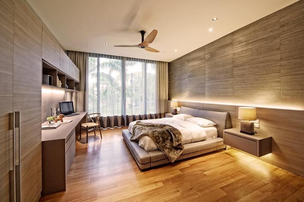 Contemporary, Landed, Bedroom, Wimborne Road, Interior Designer, Elements ID