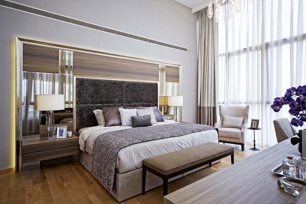 Contemporary, Condo, Bedroom, Paterson Suite, Interior Designer, Elements ID