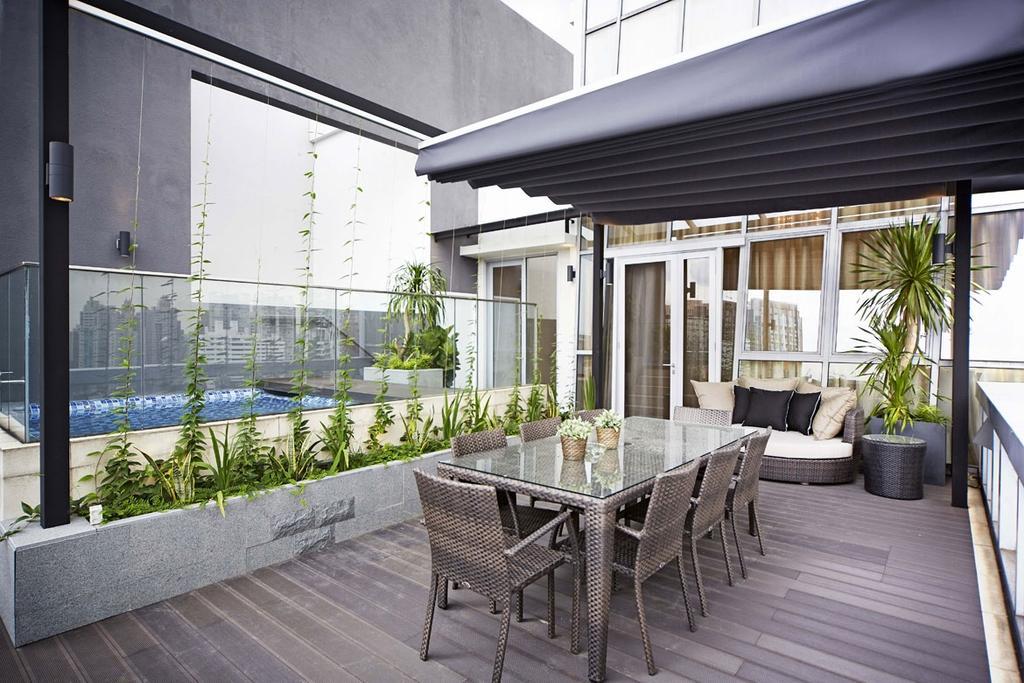 Contemporary, Condo, Balcony, Paterson Suite, Interior Designer, Elements ID