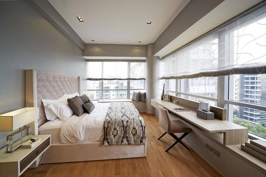 Contemporary, Condo, Bedroom, Paterson Suite, Interior Designer, Elements ID