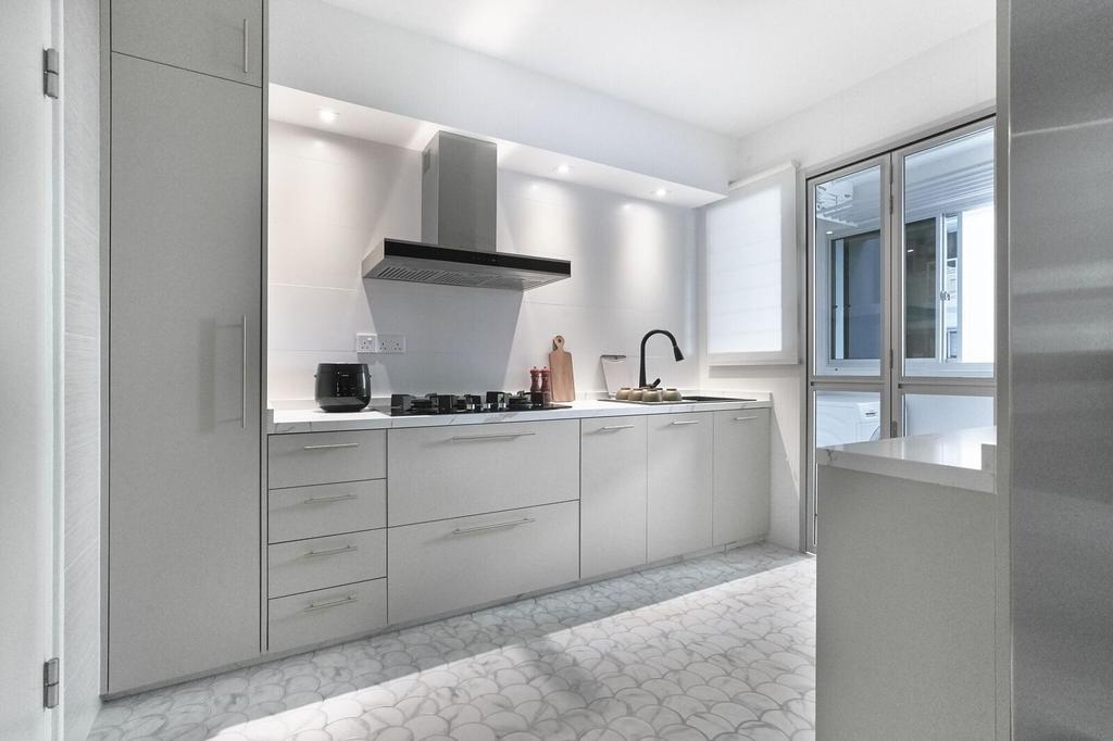 Contemporary, HDB, Kitchen, Bukit Batok Avenue 8, Interior Designer, Charlotte's Carpentry