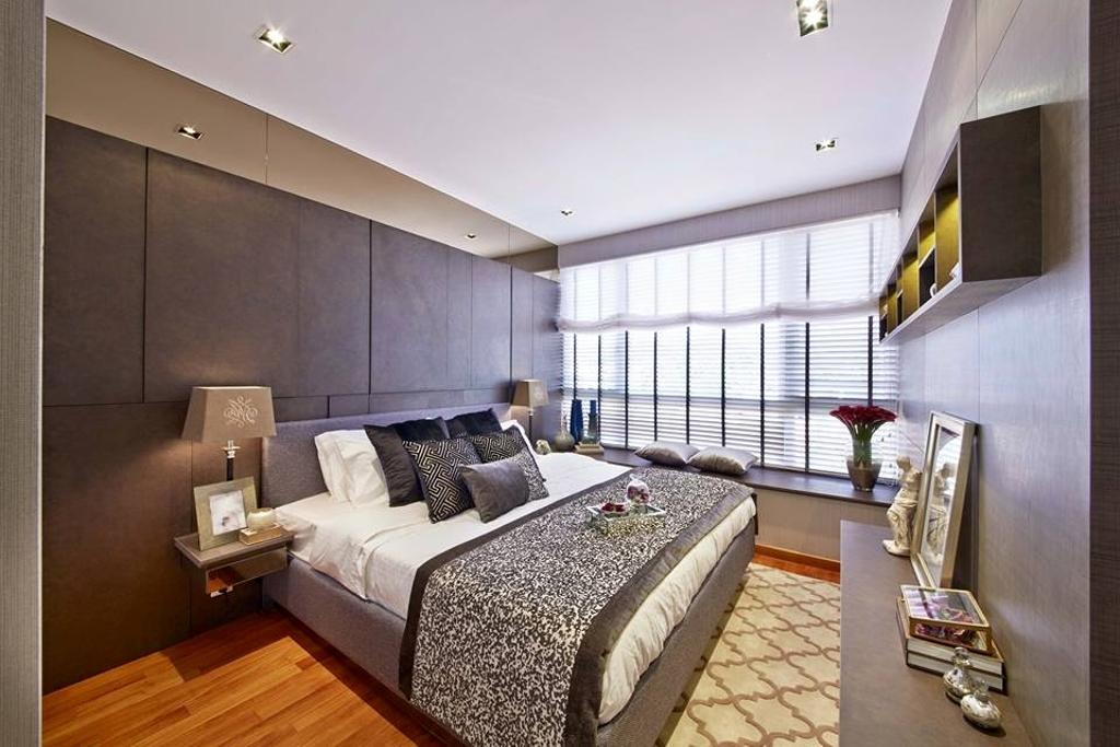 Contemporary, Condo, Bedroom, Flamingo Valley, Interior Designer, Elements ID