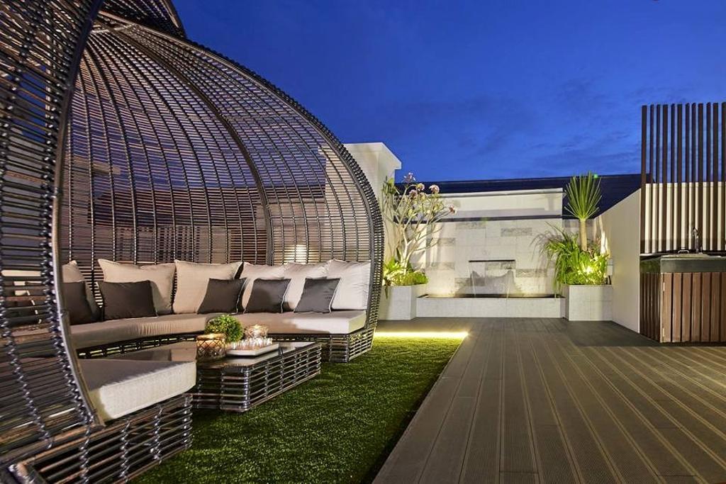Contemporary, Condo, Balcony, Flamingo Valley, Interior Designer, Elements ID