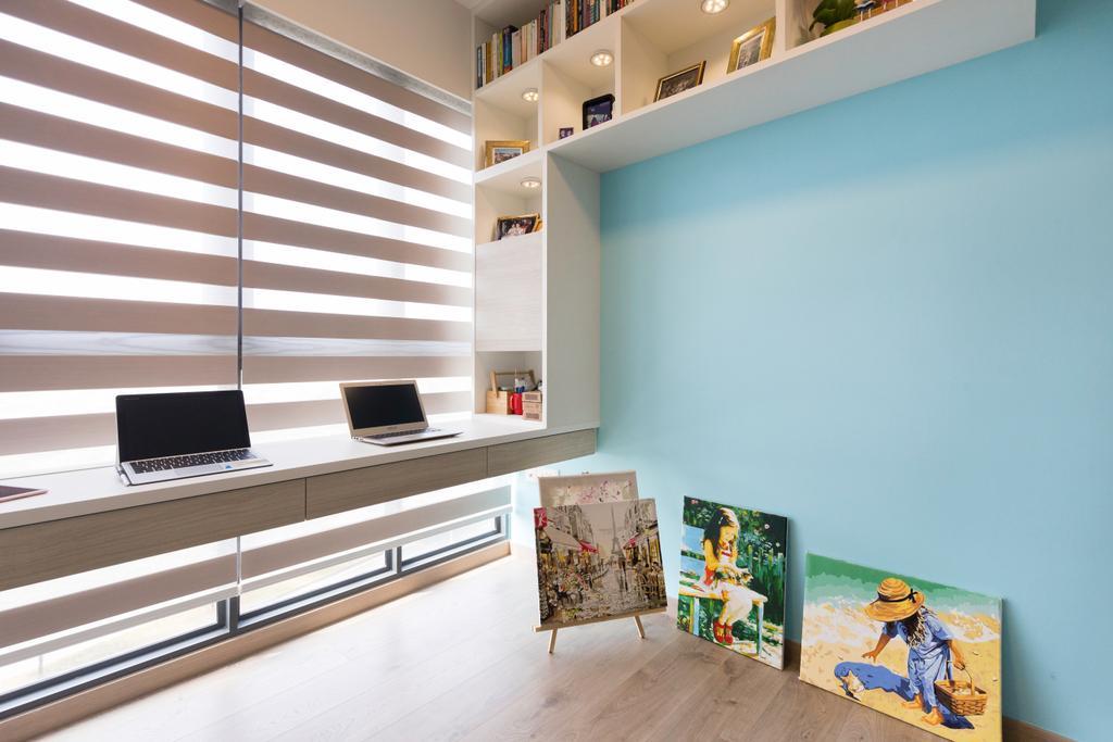 Contemporary, Condo, Study, The Criterion, Interior Designer, Design Story