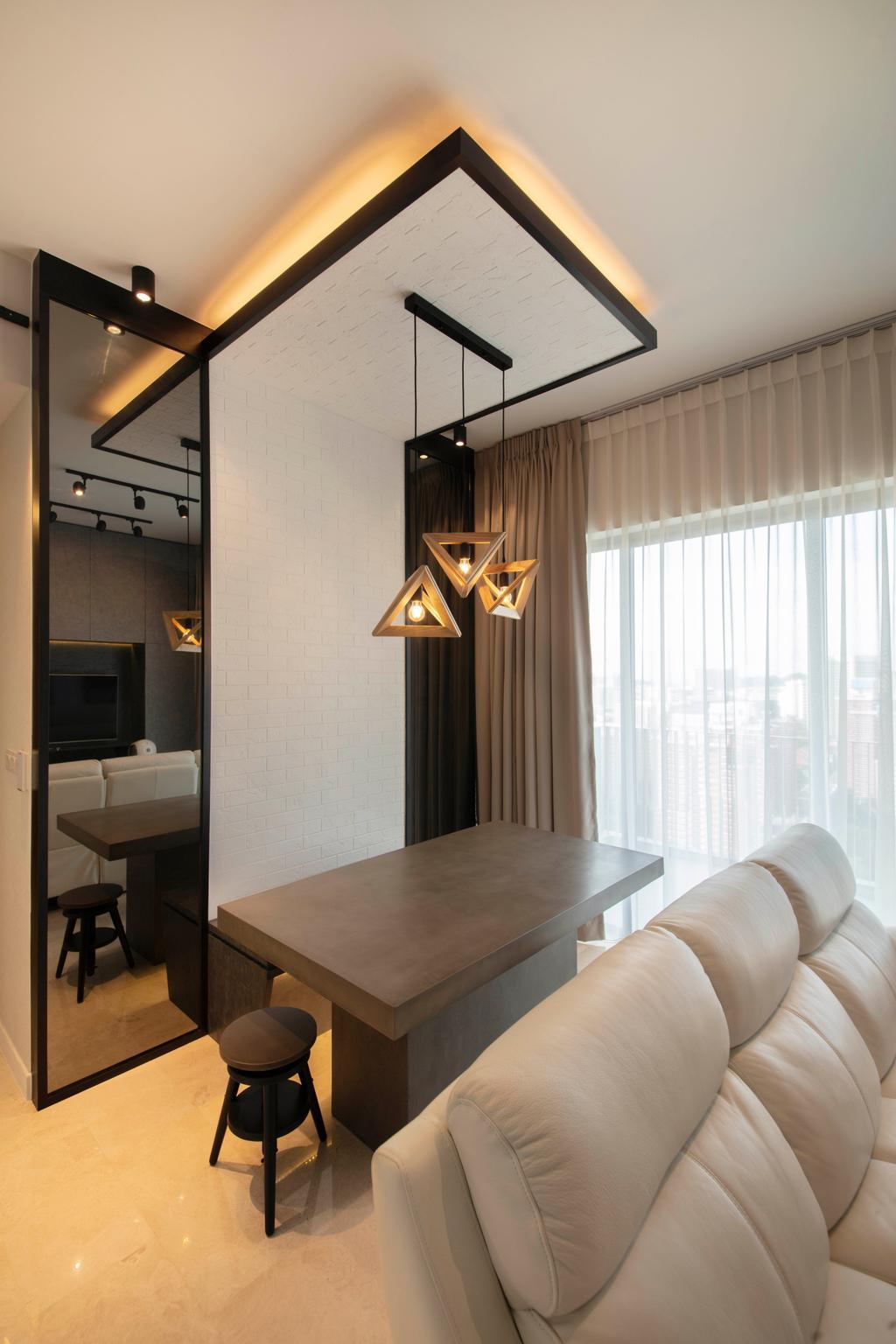 Contemporary, Condo, Dining Room, Alex Residences, Interior Designer, Starry Homestead