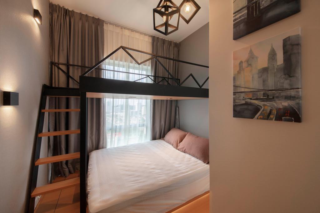 Contemporary, Condo, Bedroom, Alex Residences, Interior Designer, Starry Homestead