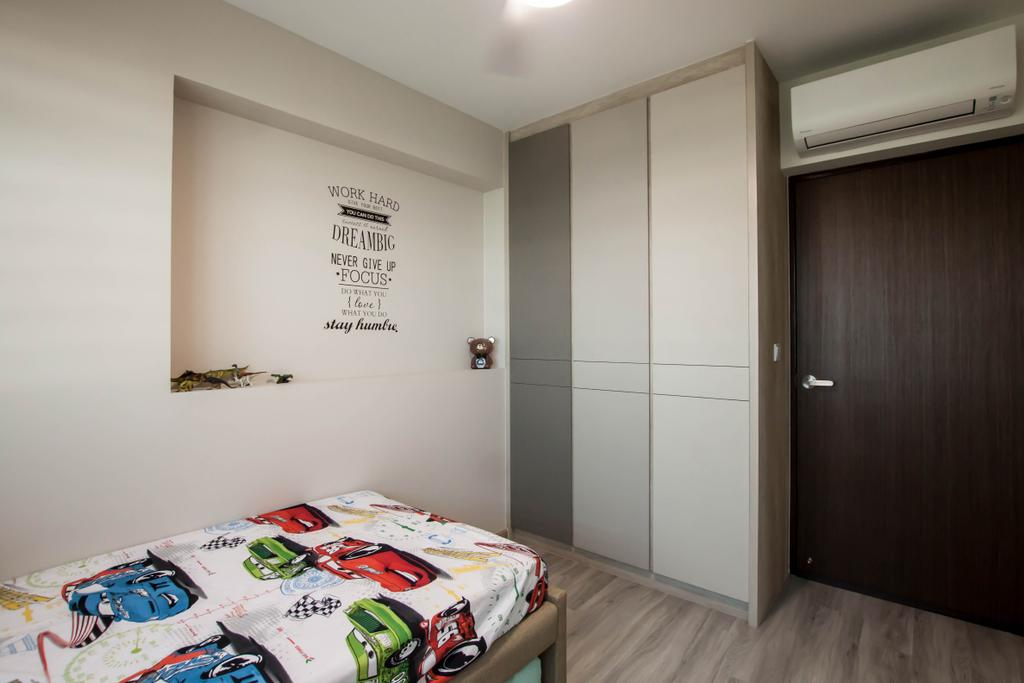 Contemporary, HDB, Yishun Ring Road, Interior Designer, Space Atelier