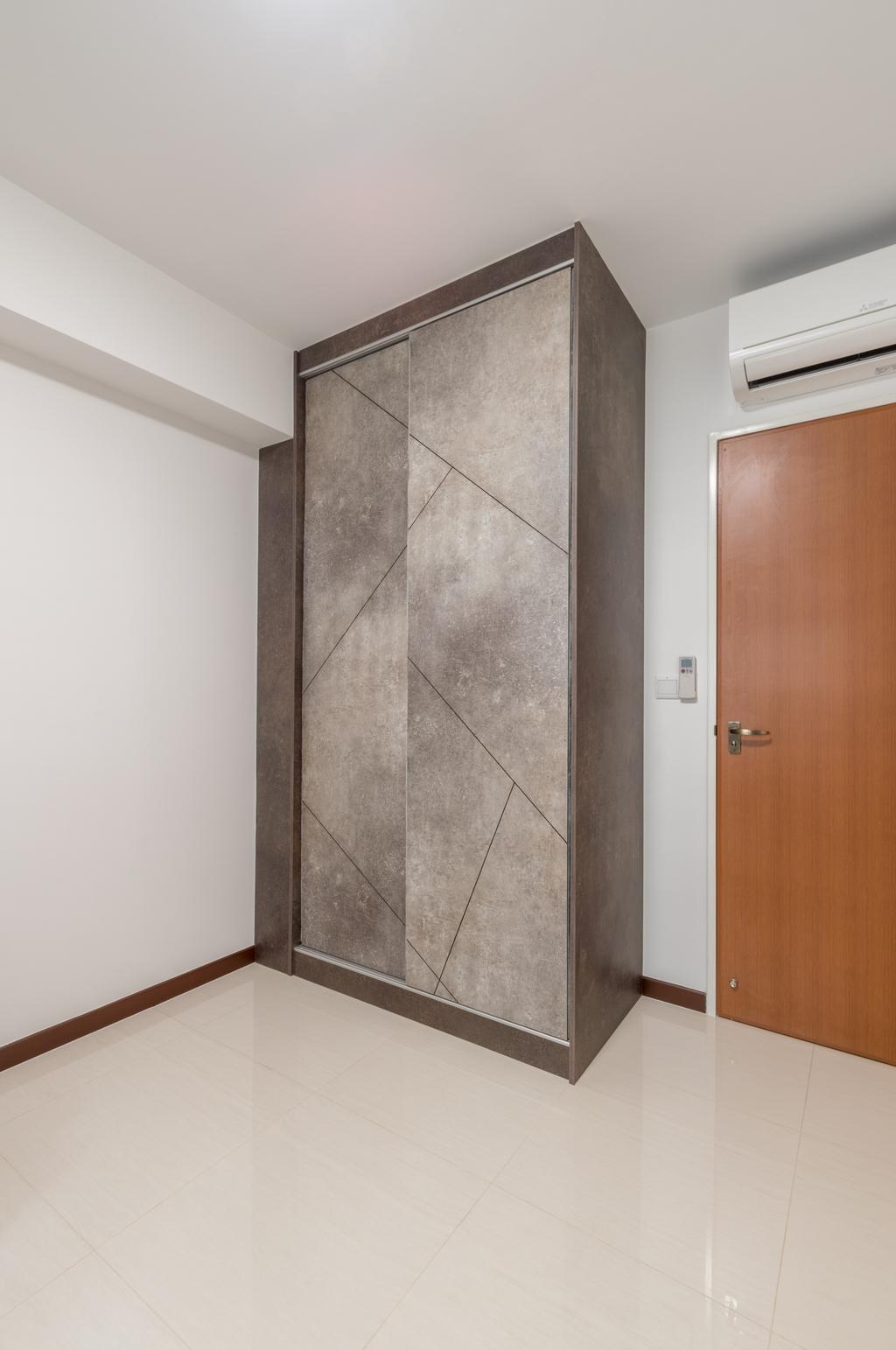 Contemporary, HDB, Bedroom, Buangkok Crescent, Interior Designer, Space Atelier