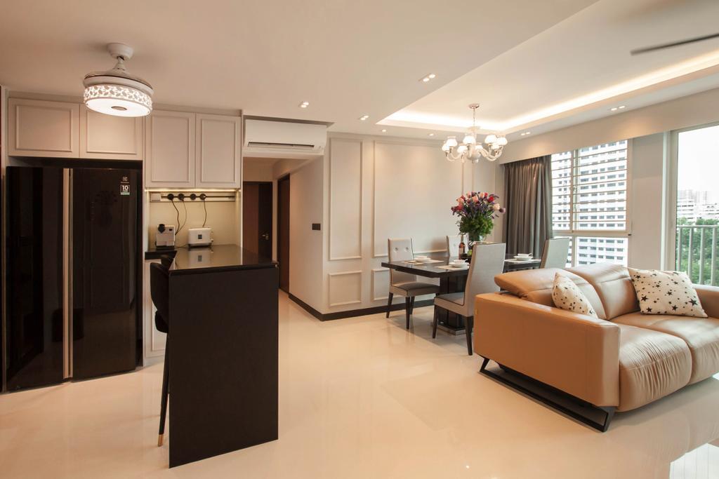 Contemporary, HDB, Bukit Batok (Block 296C), Interior Designer, Space Atelier