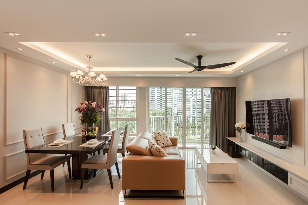 Contemporary, HDB, Living Room, Bukit Batok (Block 296C), Interior Designer, Space Atelier
