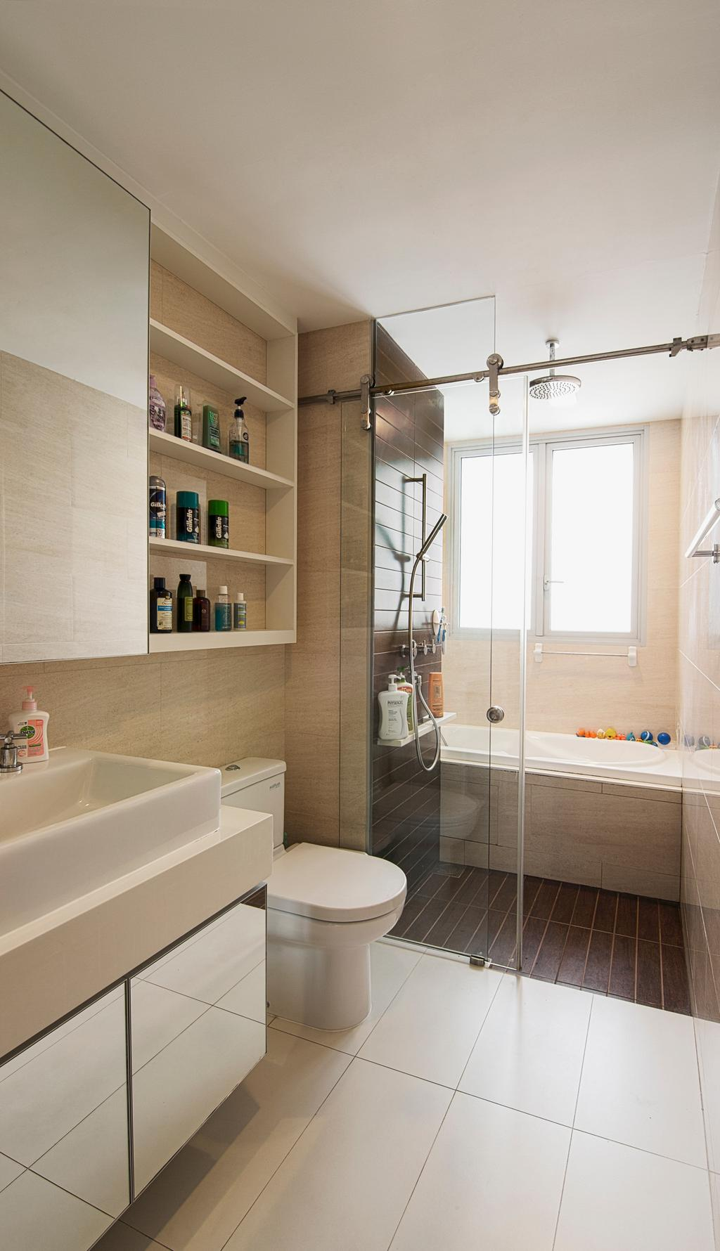 Contemporary, Condo, Bathroom, Tresalveo, Interior Designer, Swiss Interior Design, Bath Tub, Bathtub