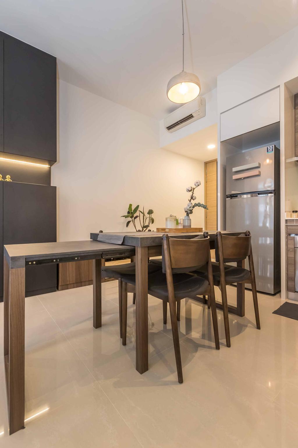Contemporary, Condo, Dining Room, Coco Palms, Interior Designer, Swiss Interior Design