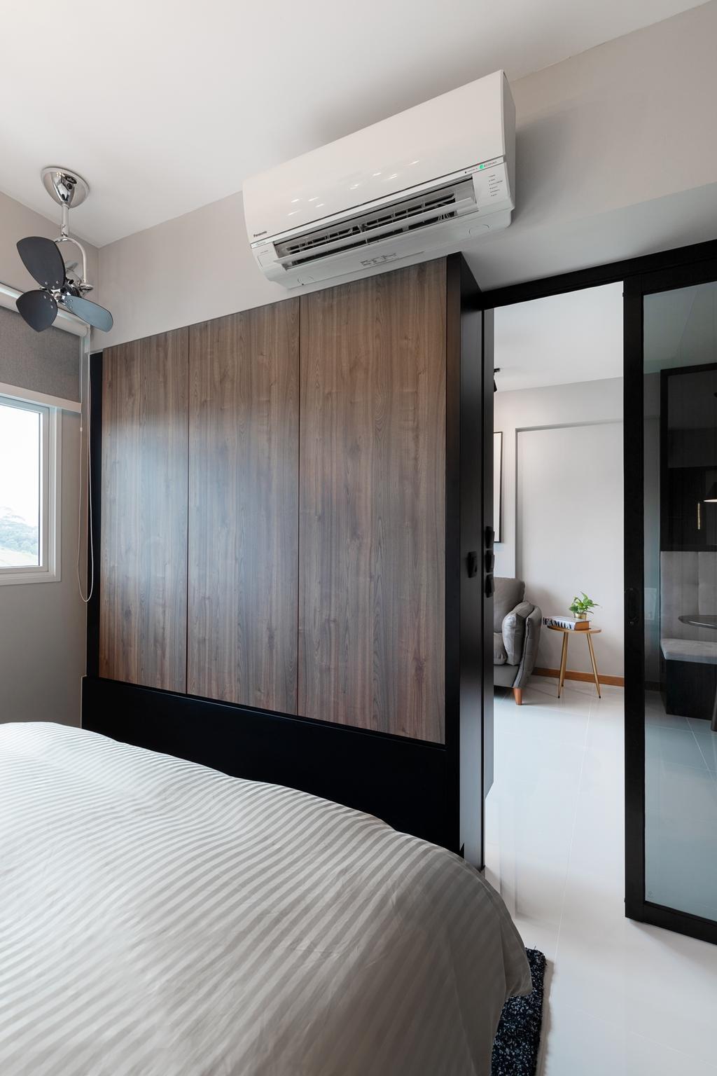 Contemporary, HDB, Bedroom, Bukit Batok Avenue 6, Interior Designer, The Makers Design Studio
