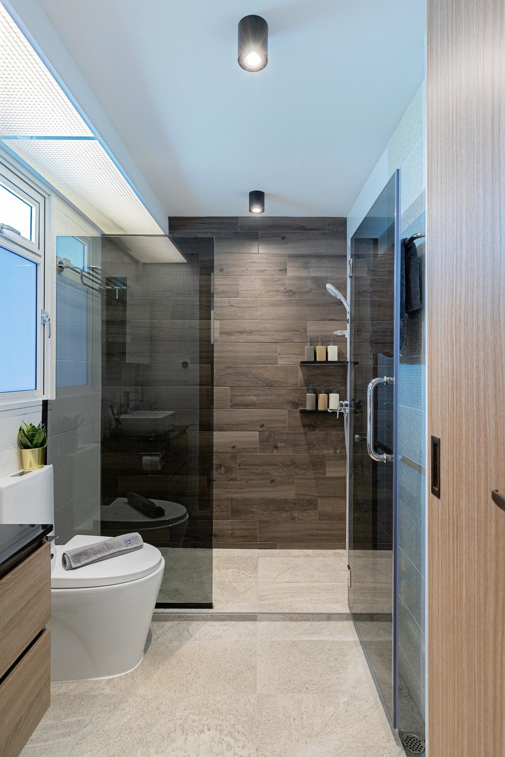 Contemporary, HDB, Bathroom, Bukit Batok Avenue 6, Interior Designer, The Makers Design Studio