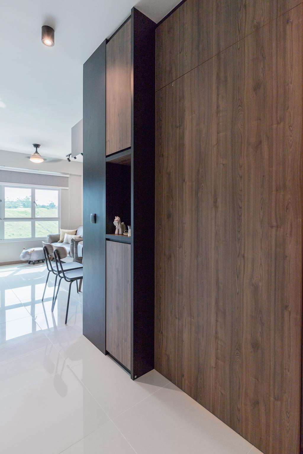 Contemporary, HDB, Bukit Batok Avenue 6, Interior Designer, The Makers Design Studio