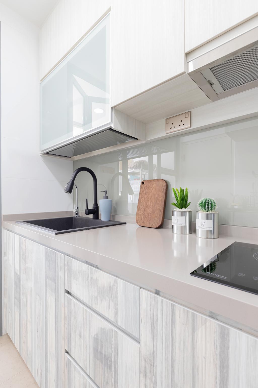 Contemporary, Condo, Kitchen, The Canopy, Interior Designer, The Makers Design Studio