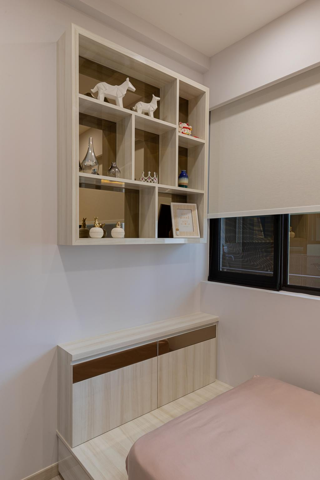 Contemporary, Condo, Bedroom, Pasir Ris, Interior Designer, The Makers Design Studio