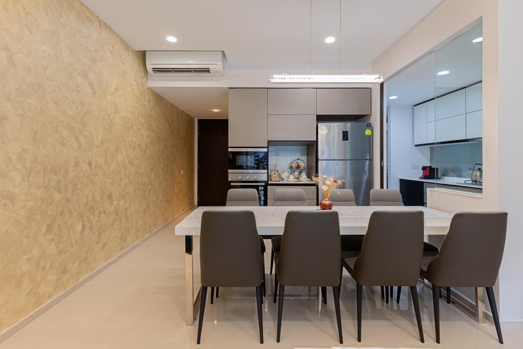Contemporary, Condo, Dining Room, Pasir Ris, Interior Designer, The Makers Design Studio