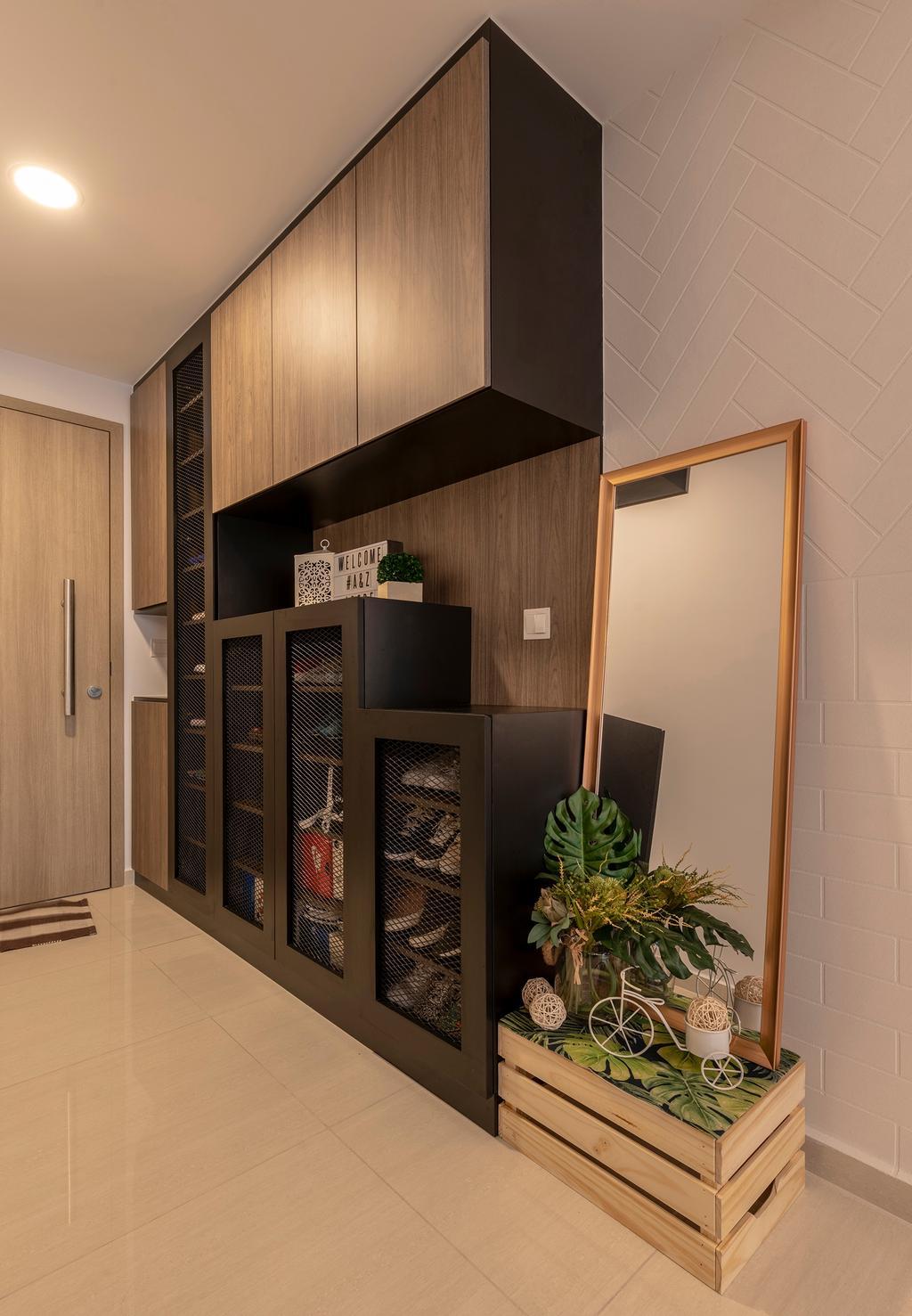 Contemporary, HDB, Choa Chu Kang Grove, Interior Designer, Chapter One Interior Design