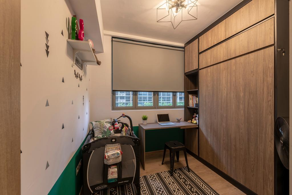 Contemporary, HDB, Bedroom, Choa Chu Kang Grove, Interior Designer, Chapter One Interior Design