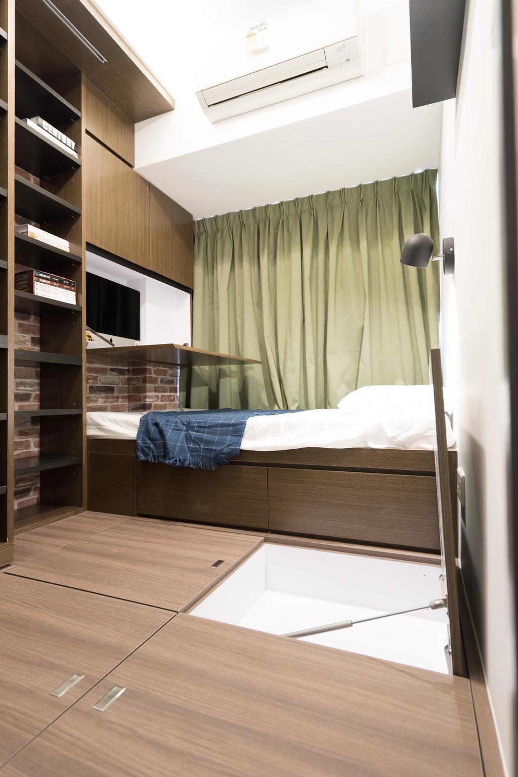 北歐, 私家樓, 睡房, 上水名都, 室內設計師, The NEST, 過渡時期, 簡約, 摩登