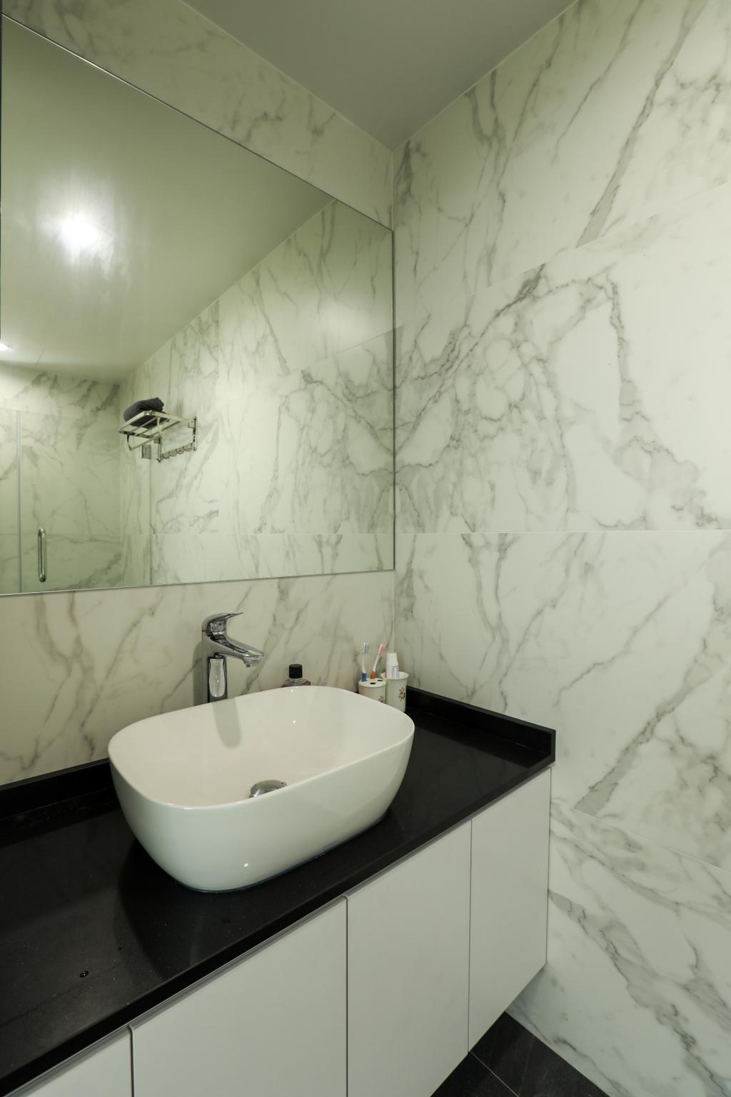 Contemporary, Condo, Bathroom, Kampong Eunos, Interior Designer, Apartment