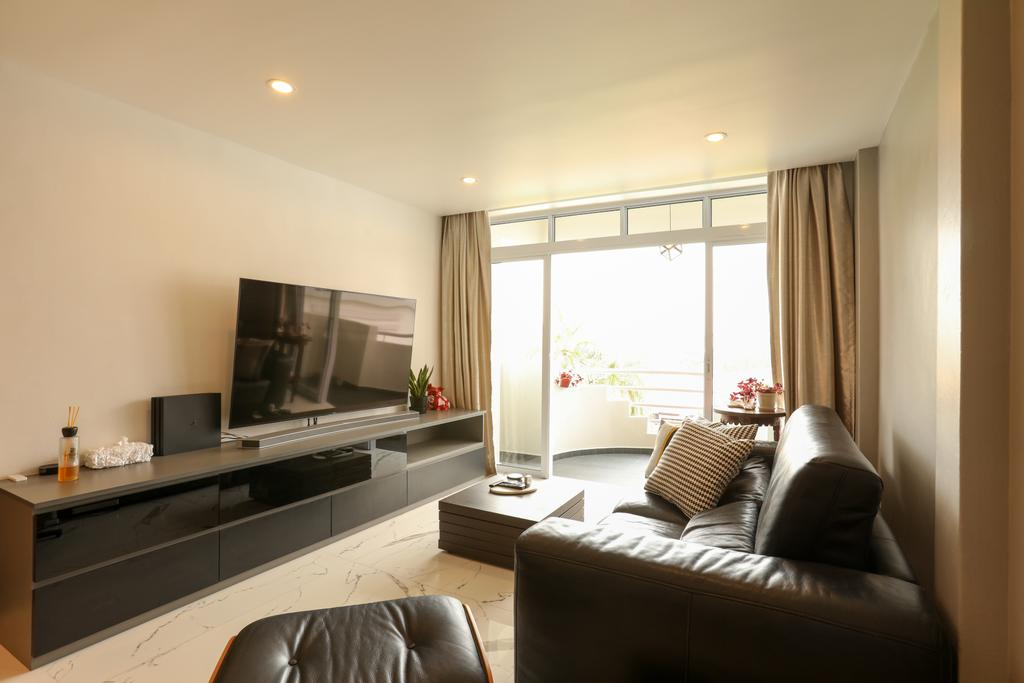 Contemporary, Condo, Living Room, Kampong Eunos, Interior Designer, Apartment