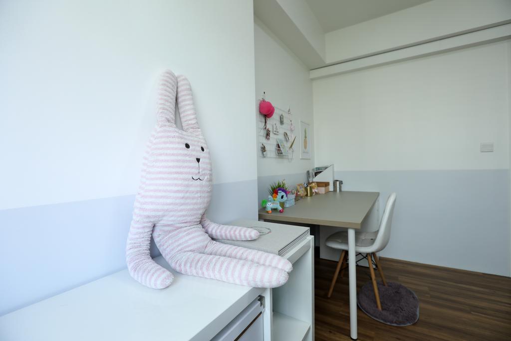 Scandinavian, HDB, Study, Jurong West, Interior Designer, Apartment, Contemporary