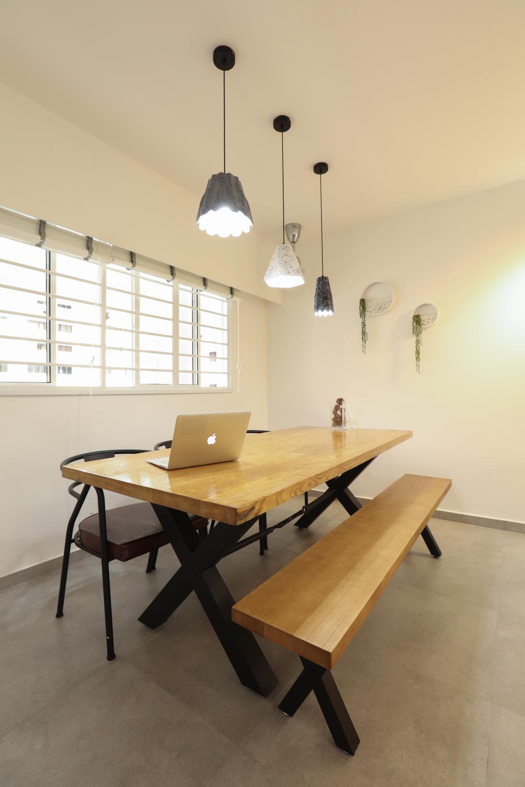 HDB, Dining Room, Jurong West, Interior Designer, Apartment
