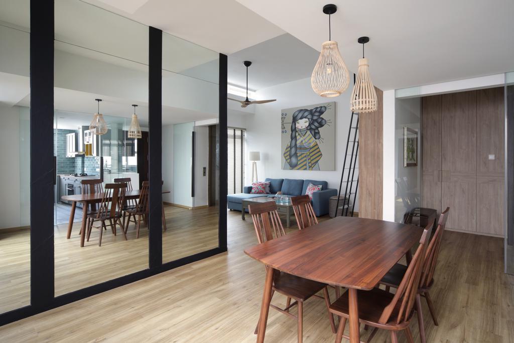 Contemporary, Condo, Dining Room, Hillview Avenue, Interior Designer, Fuse Concept
