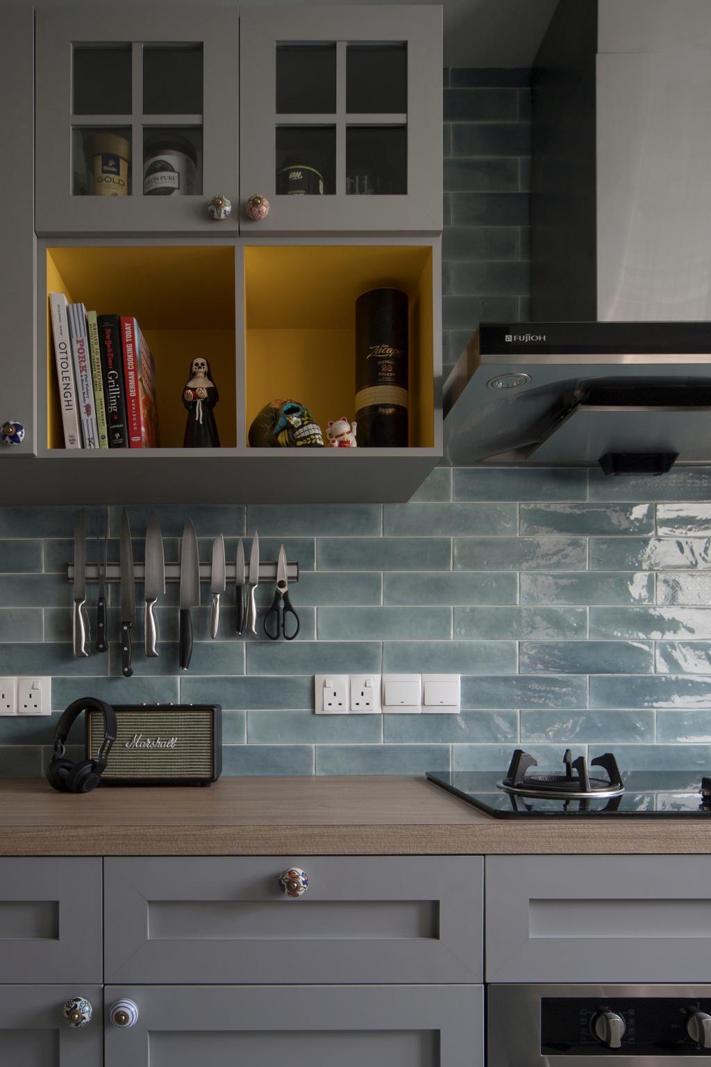 Contemporary, Condo, Kitchen, Hillview Avenue, Interior Designer, Fuse Concept
