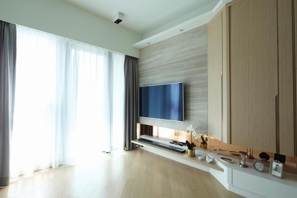 簡約, 私家樓, 客廳, 元朗Grand YOHO, 室內設計師, Magis Design Studio